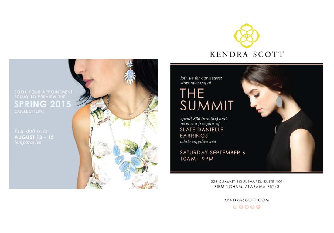Kendra Scott Promotions